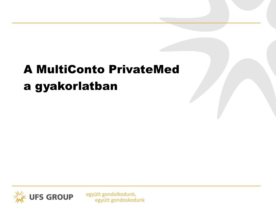 A MultiConto PrivateMed