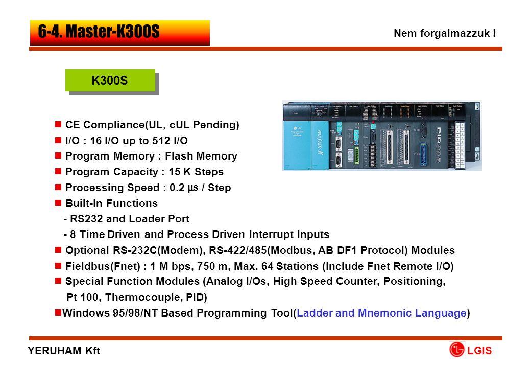 6-4. Master-K300S K300S Nem forgalmazzuk !