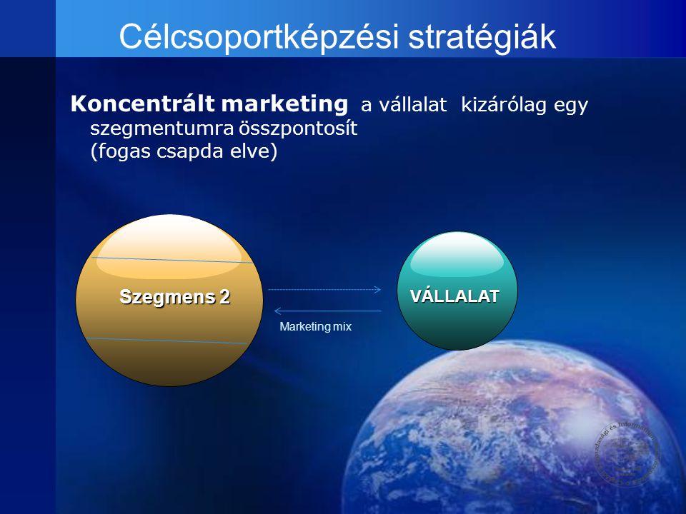 Célcsoportképzési stratégiák