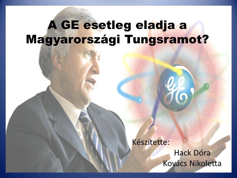 A GE esetleg eladja a Magyarországi Tungsramot