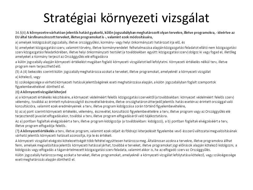 Stratégiai környezeti vizsgálat