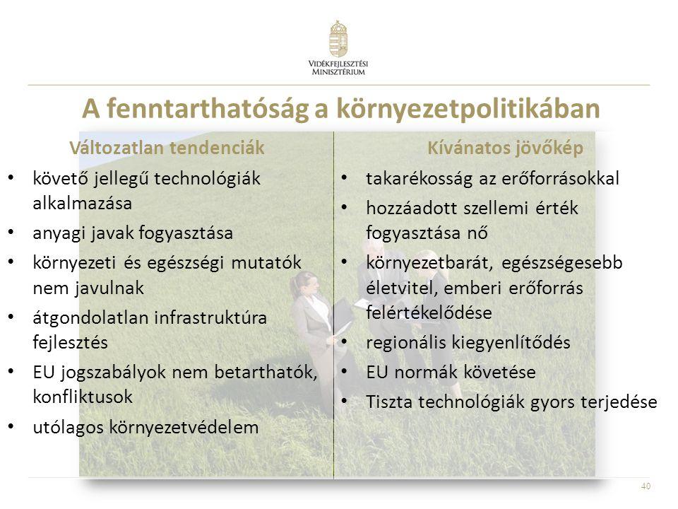 A fenntarthatóság a környezetpolitikában
