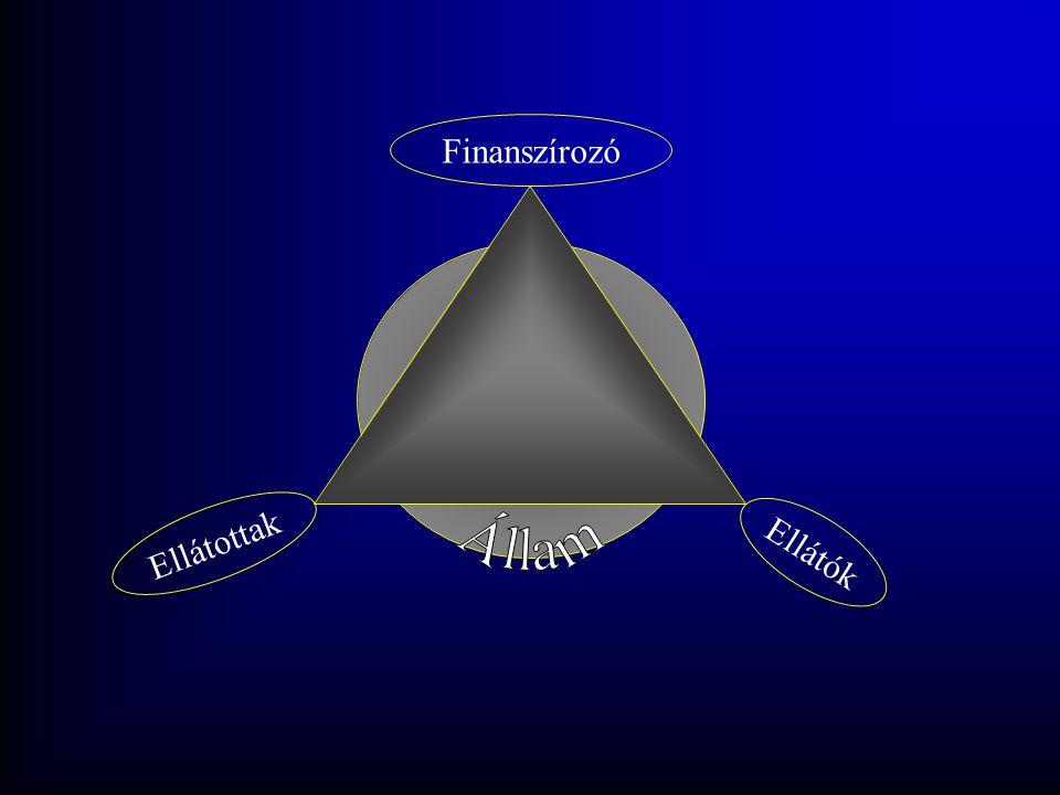 Finanszírozó Állam Ellátottak Ellátók