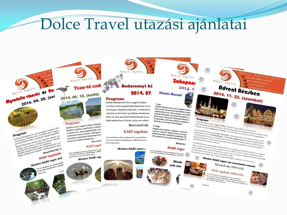 Dolce Travel utazási ajánlatai