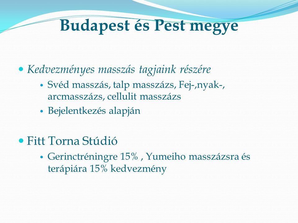Budapest és Pest megye Fitt Torna Stúdió