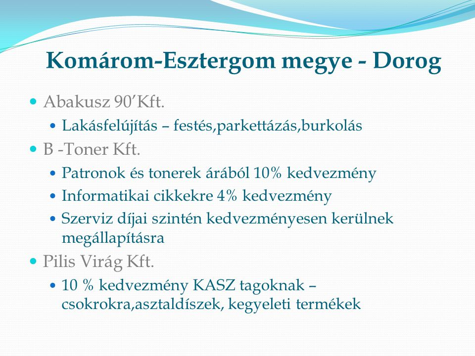Komárom-Esztergom megye - Dorog