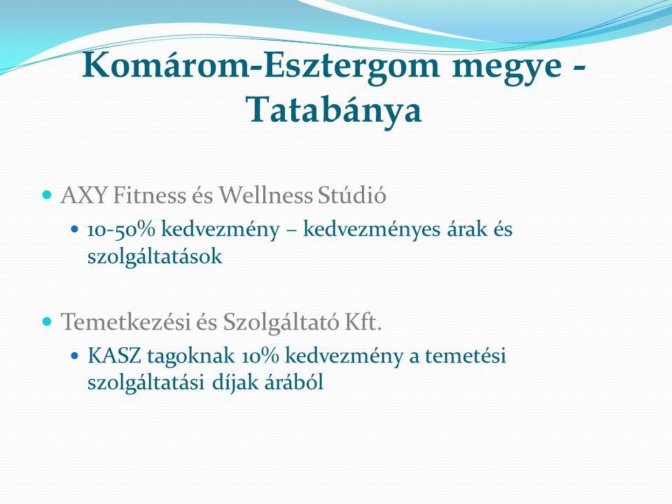 Komárom-Esztergom megye -Tatabánya
