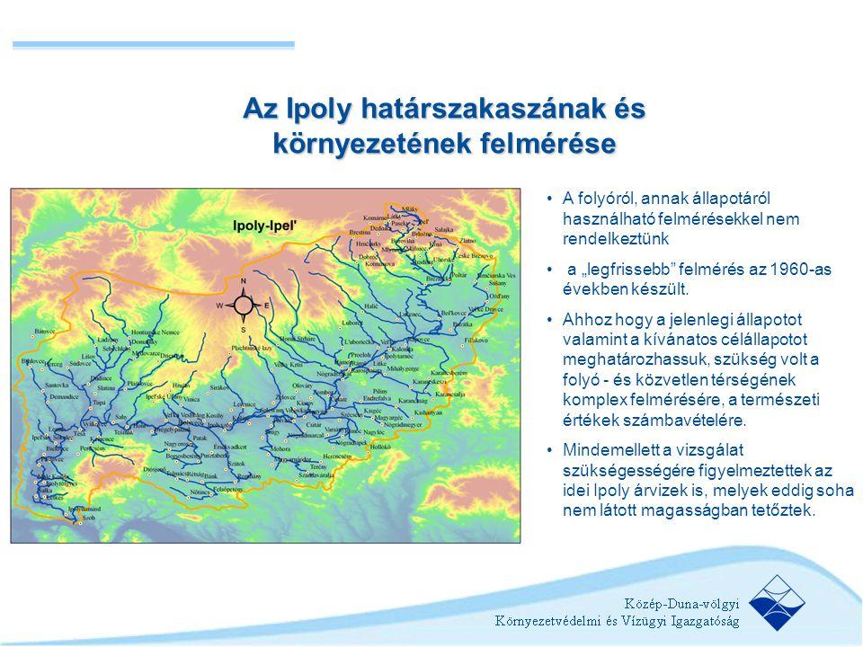 Az Ipoly határszakaszának és környezetének felmérése