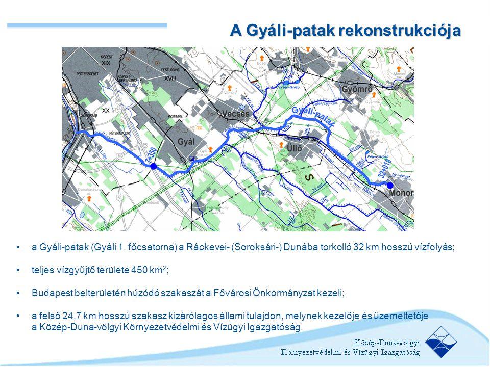 A Gyáli-patak rekonstrukciója