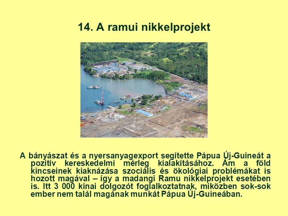 14. A ramui nikkelprojekt