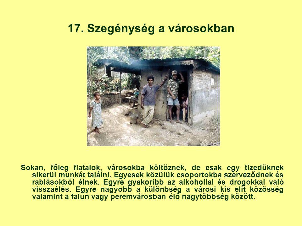 17. Szegénység a városokban