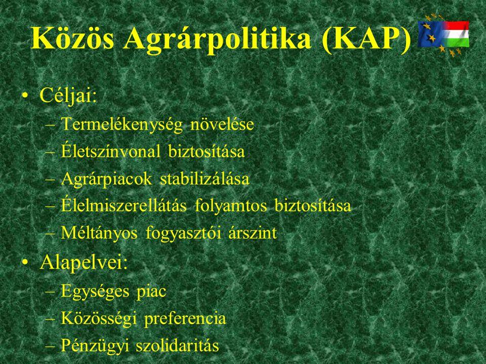 Közös Agrárpolitika (KAP)