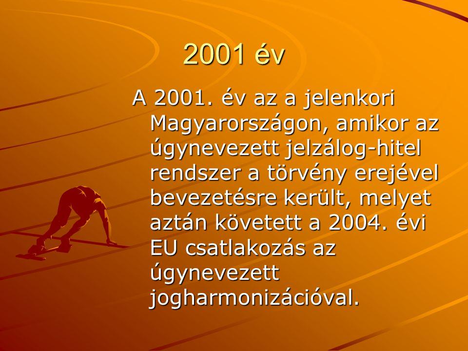 2001 év