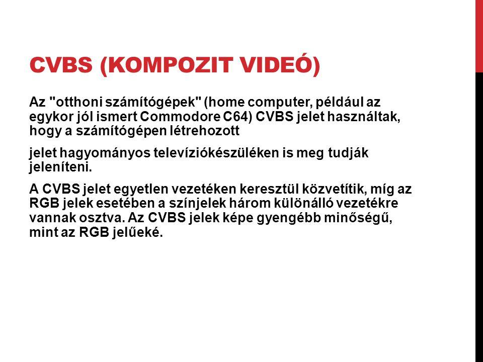 CVBS (kompozit videó)