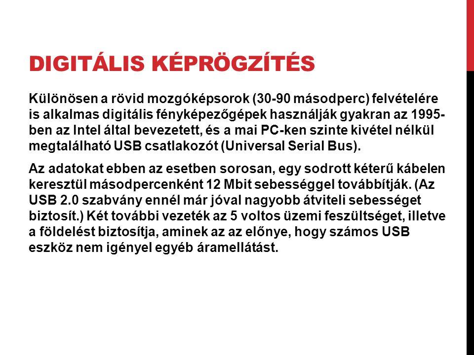 Digitális képrögzítés