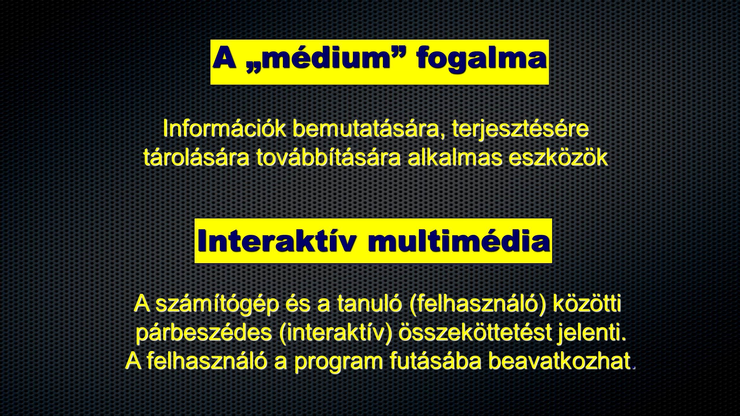 Interaktív multimédia