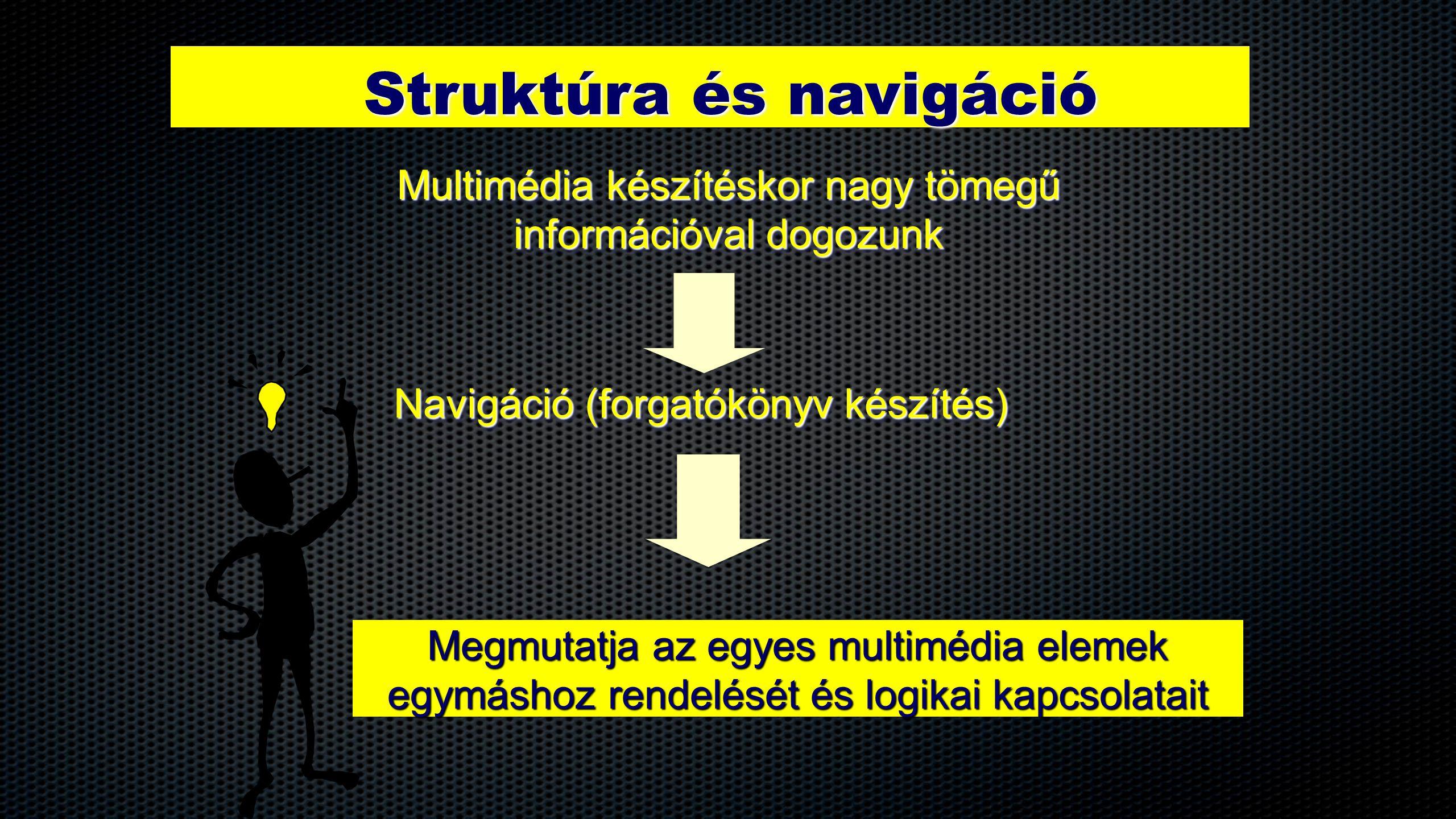 Struktúra és navigáció