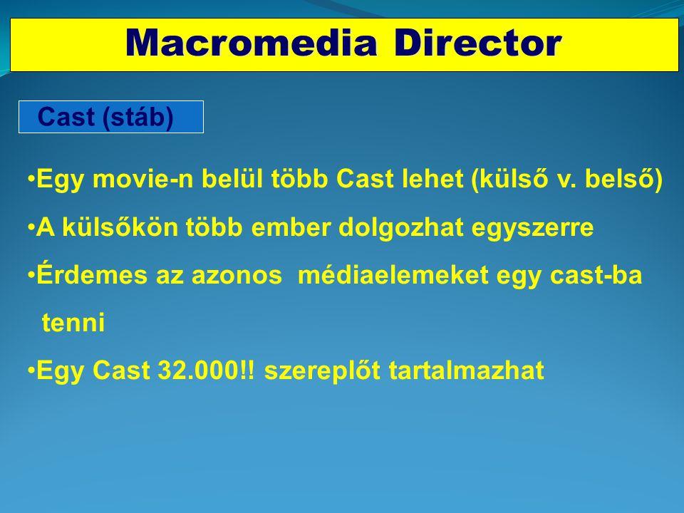 Macromedia Director Cast (stáb)