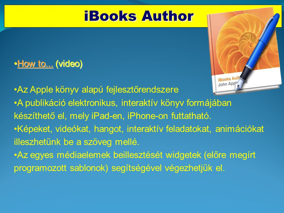 iBooks Author How to... (video)