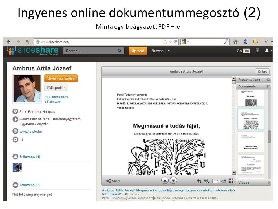 Ingyenes online dokumentummegosztó (2)