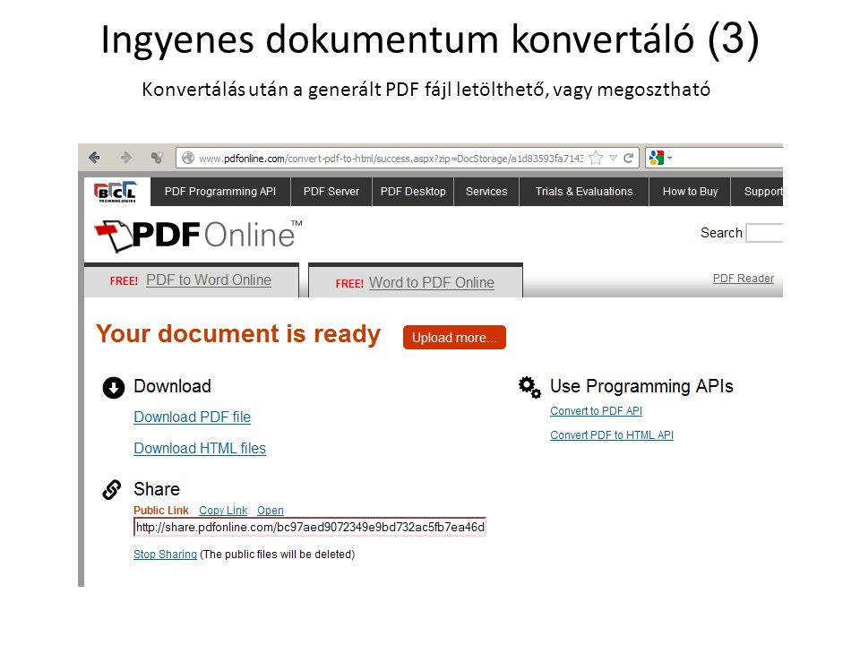 Ingyenes dokumentum konvertáló (3)