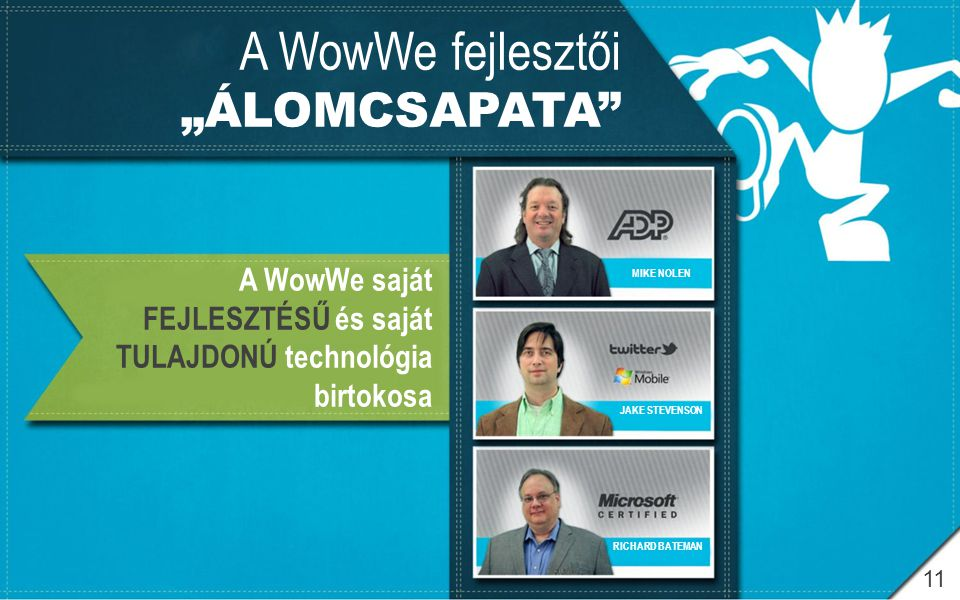 """A WowWe fejlesztői """"ÁLOMCSAPATA"""
