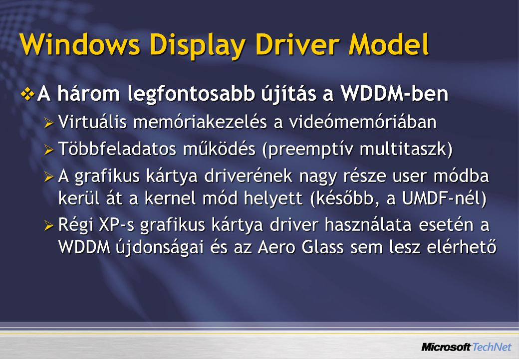 Windows Display Driver Model