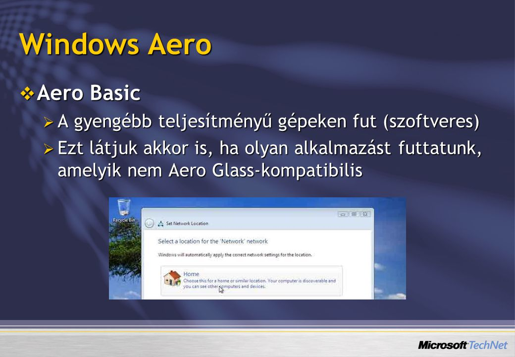 Windows Aero Aero Basic