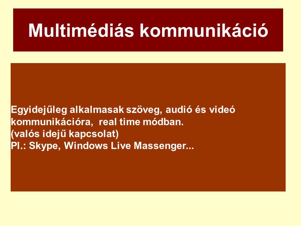 Multimédiás kommunikáció