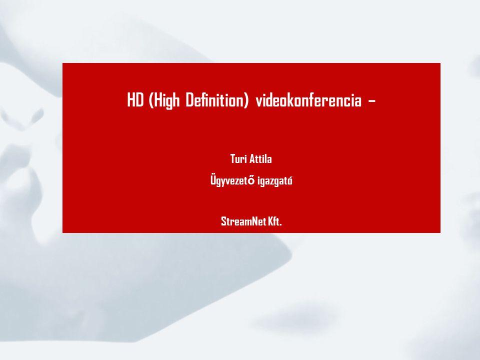 HD (High Definition) videokonferencia –