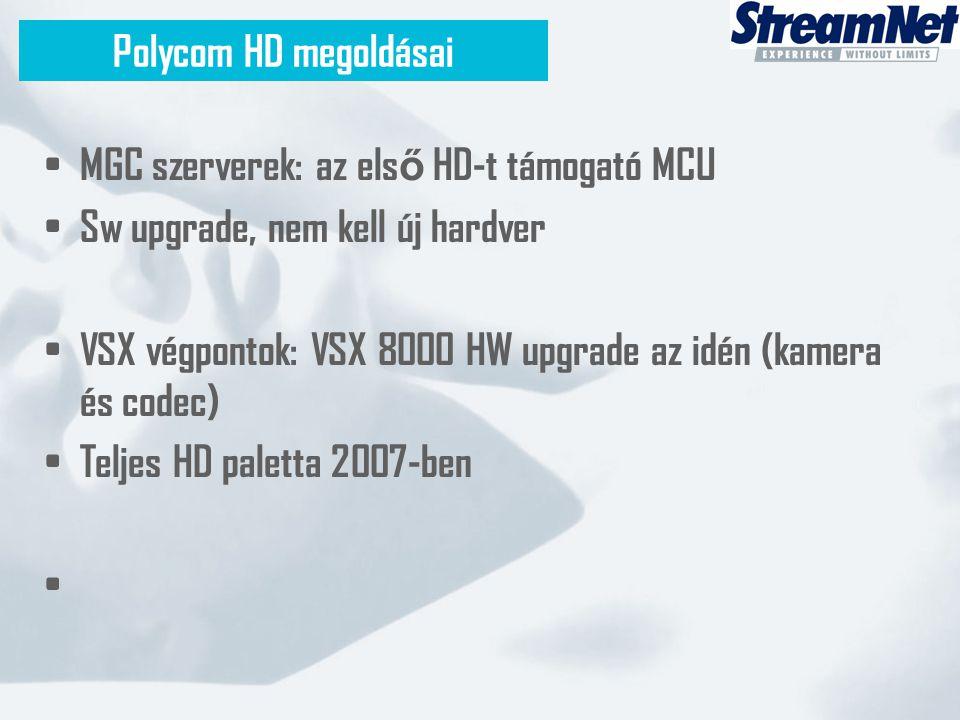 MGC szerverek: az első HD-t támogató MCU
