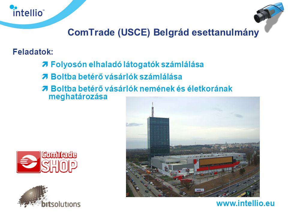 ComTrade (USCE) Belgrád esettanulmány