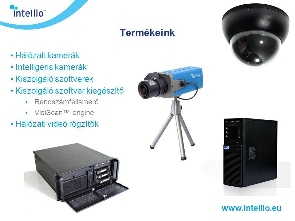 Termékeink Hálózati kamerák Intelligens kamerák Kiszolgáló szoftverek