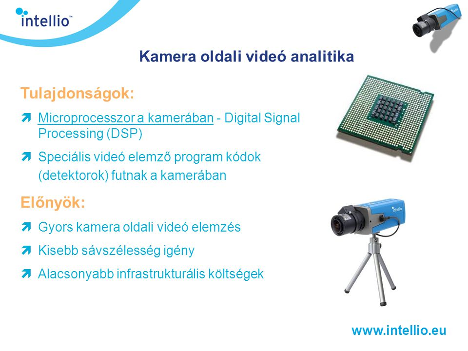 Kamera oldali videó analitika