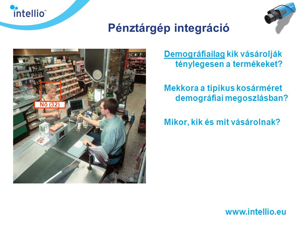 Pénztárgép integráció