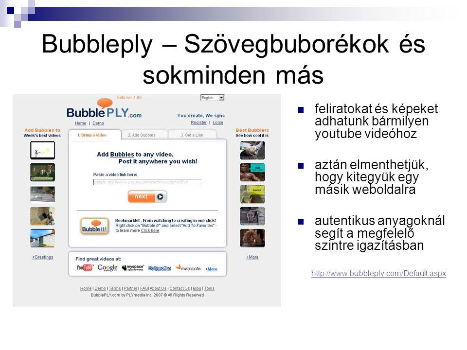 Bubbleply – Szövegbuborékok és sokminden más