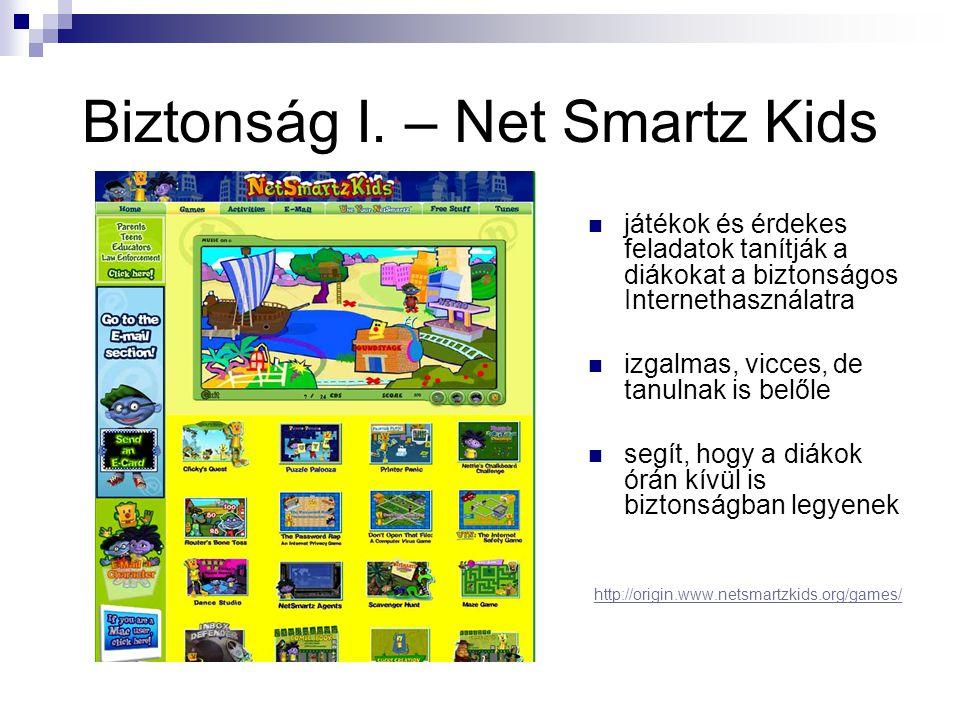 Biztonság I. – Net Smartz Kids