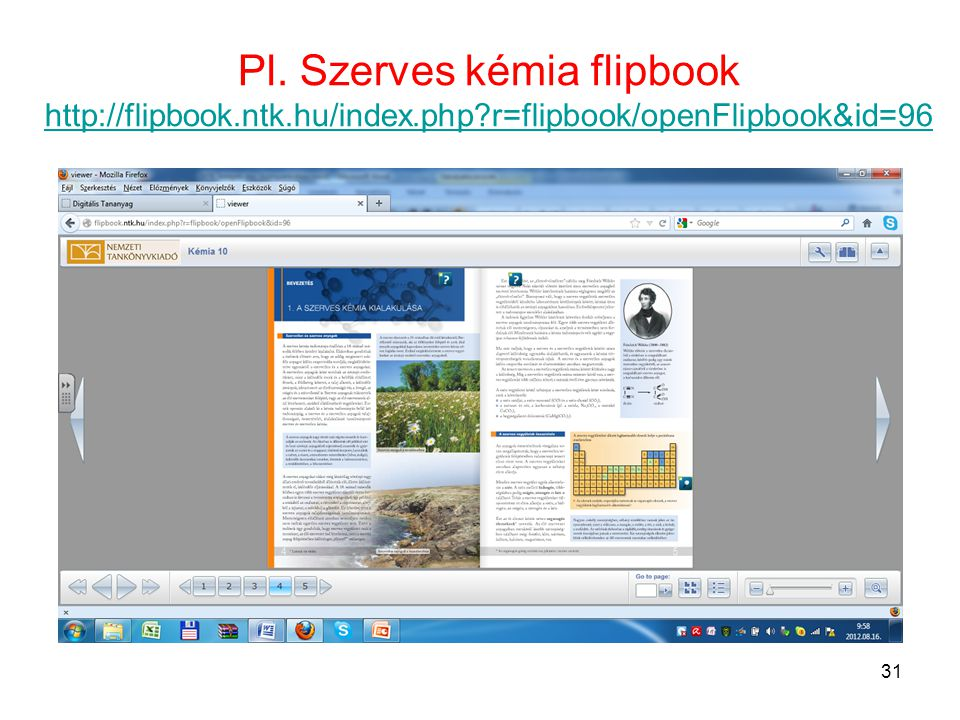 Pl. Szerves kémia flipbook   ntk. hu/index. php