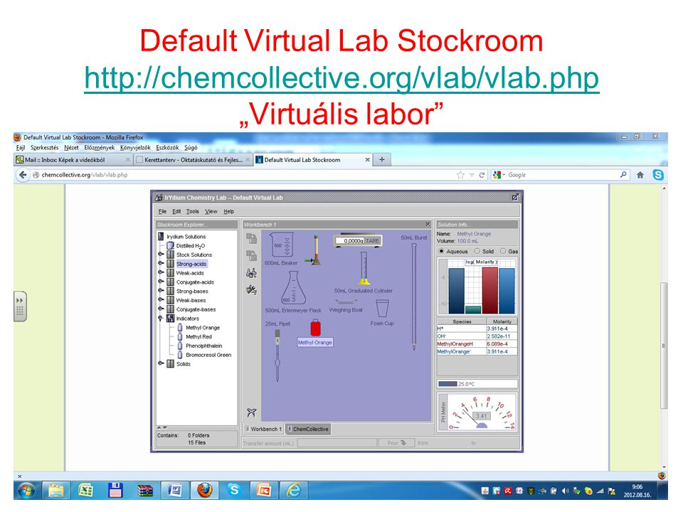 Default Virtual Lab Stockroom   org/vlab/vlab