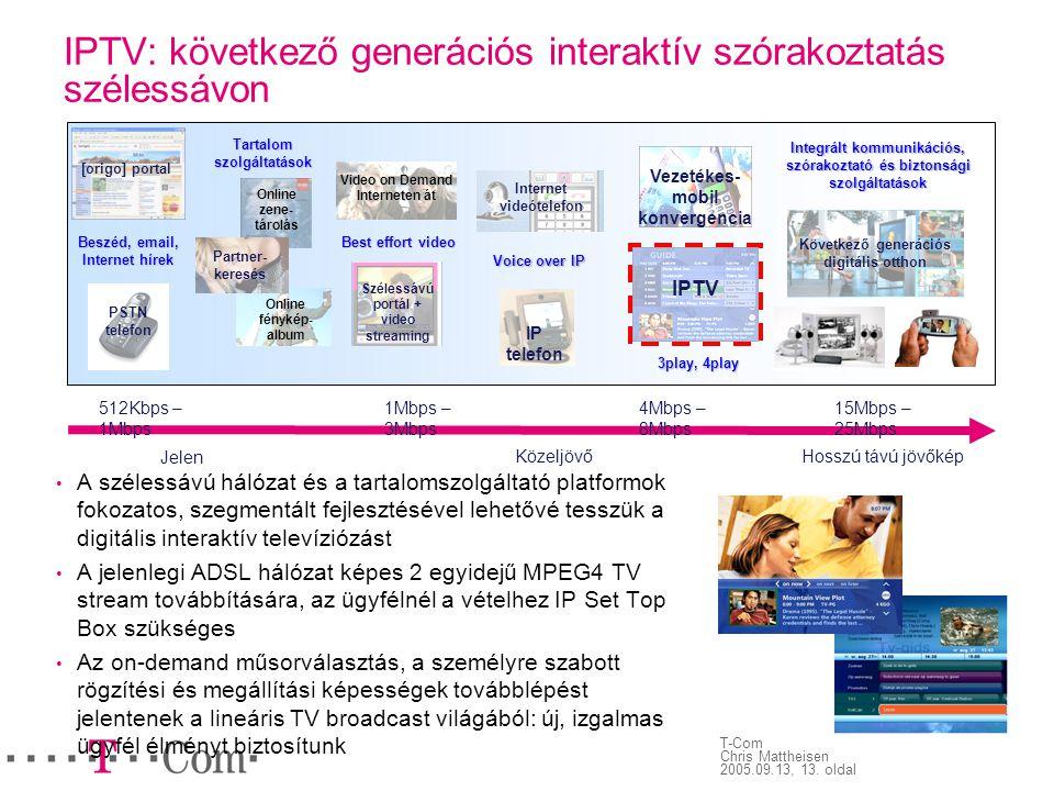 IPTV: következő generációs interaktív szórakoztatás szélessávon