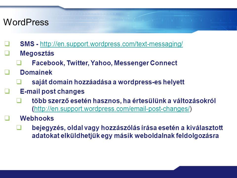 WordPress SMS - http://en.support.wordpress.com/text-messaging/