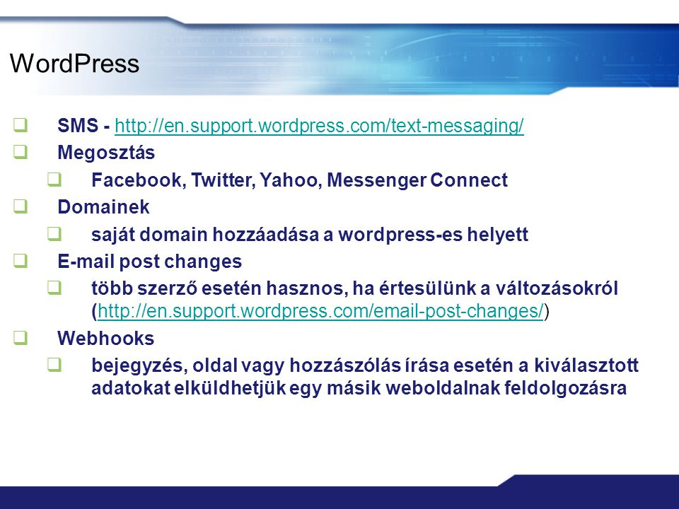 WordPress SMS -