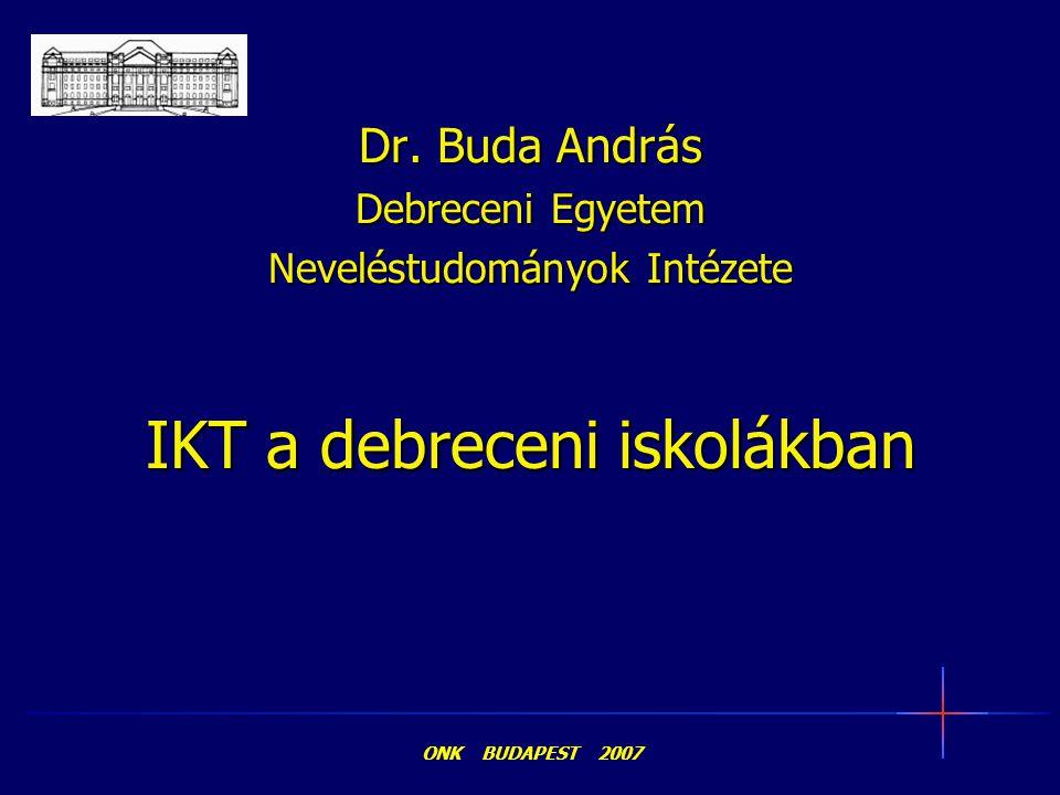IKT a debreceni iskolákban
