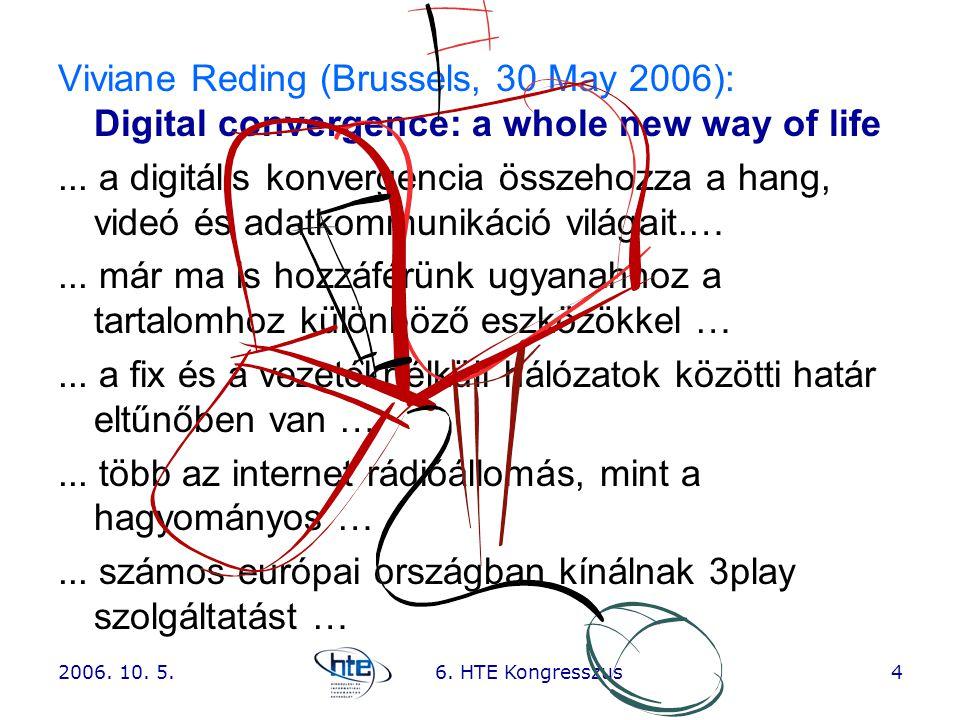 ... a fix és a vezetéknélküli hálózatok közötti határ eltűnőben van …