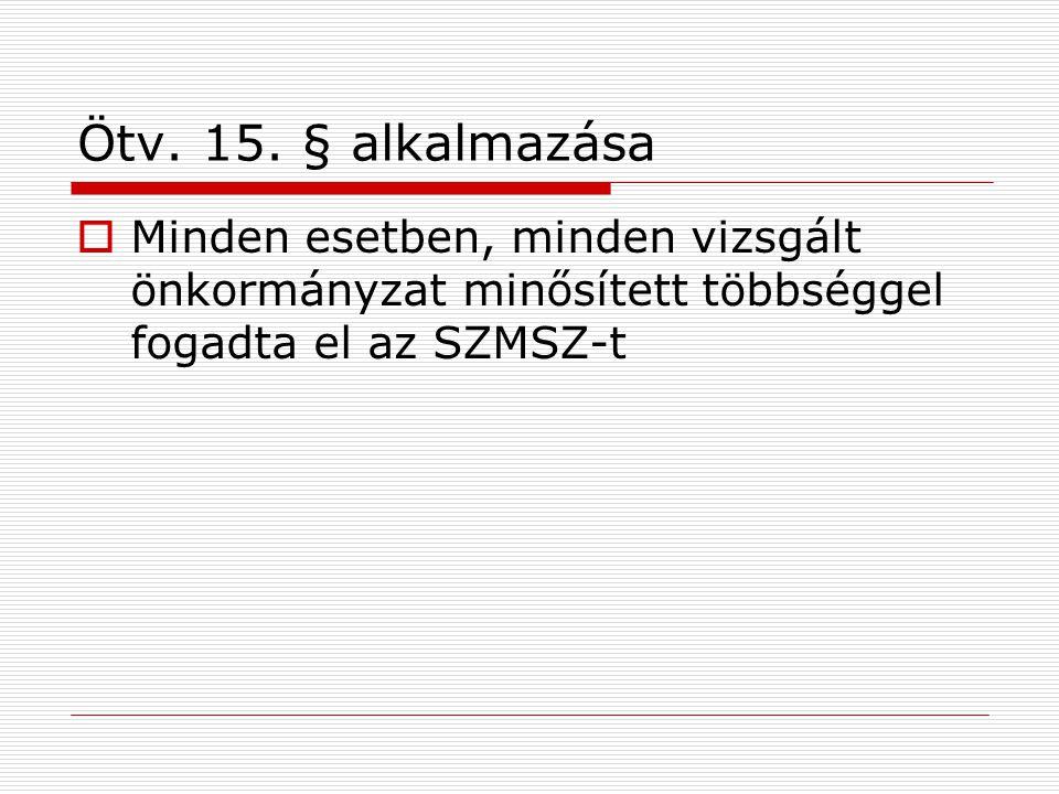Ötv. 15.