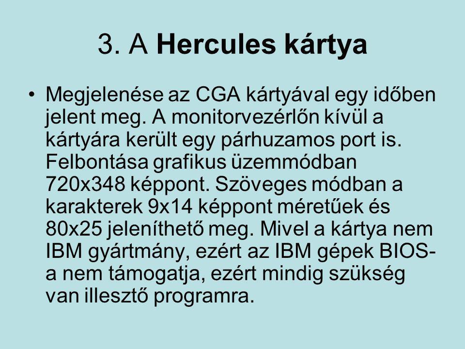 3. A Hercules kártya