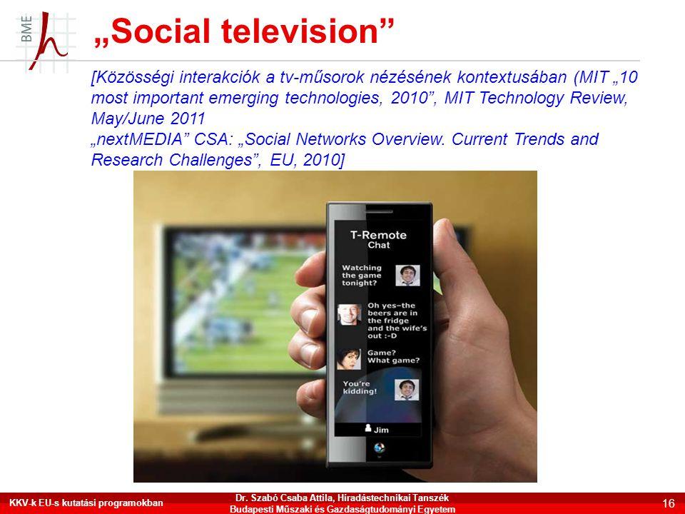 """""""Social television"""