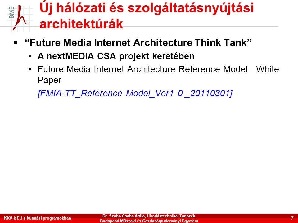 Új hálózati és szolgáltatásnyújtási architektúrák