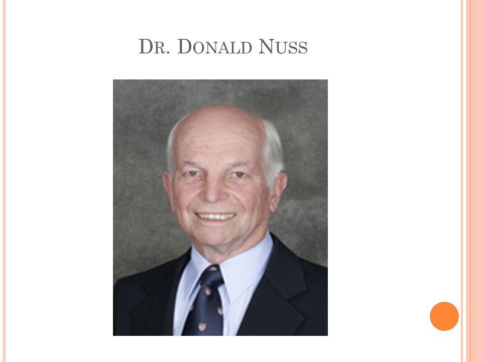 Dr. Donald Nuss