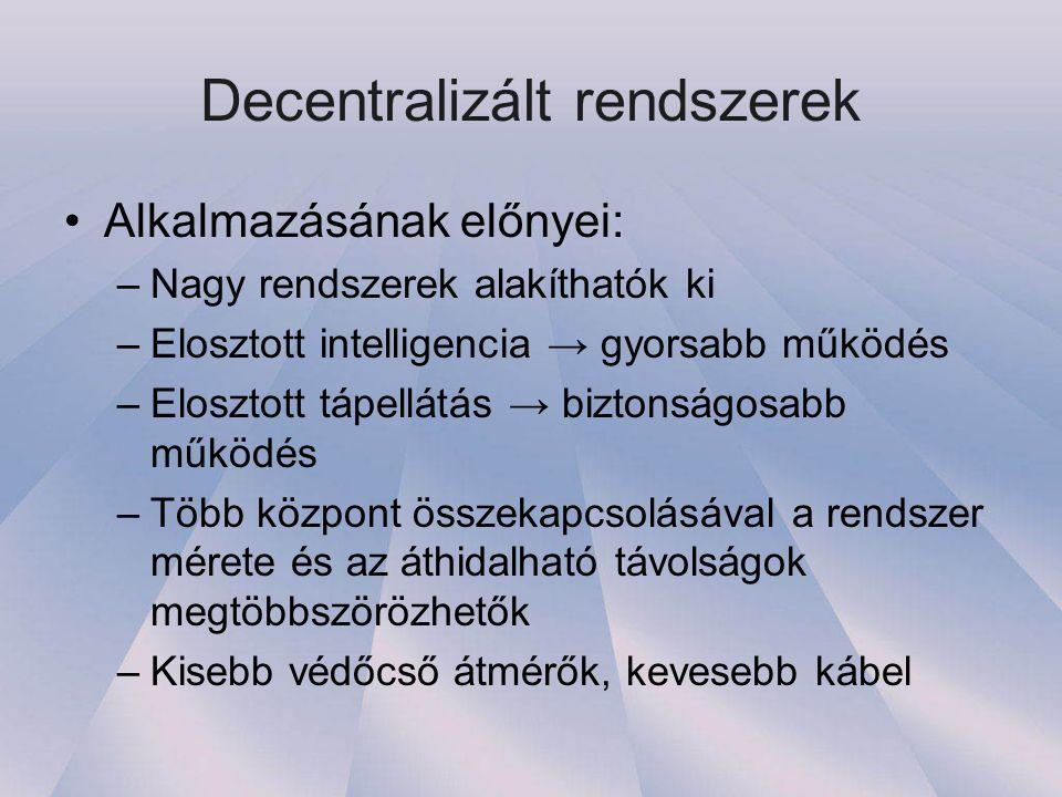 Decentralizált rendszerek